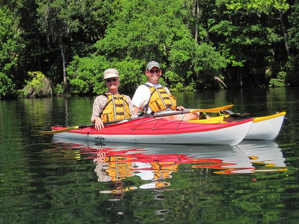 Chassahowitzka River, Florida  Kayak Trip