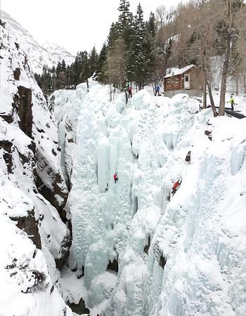 Ice Climbing, Ouray Feb 2014