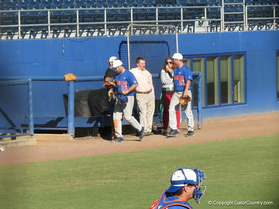 Florida Gators baseball scrimmage 11.09.12