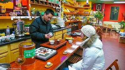 San Francisco Tea Tasting January 2009