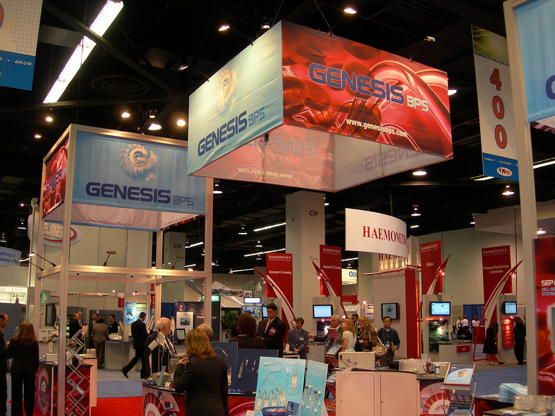 GenesisBPS, Custom Booth