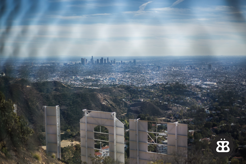 LA from the Hollywood Sign
