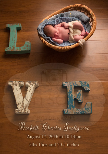 Beckett's Newborn Session