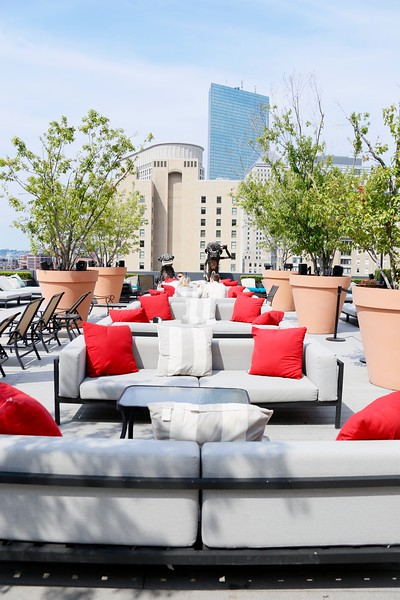 Revere Hotel Rooftop Photo Shoot