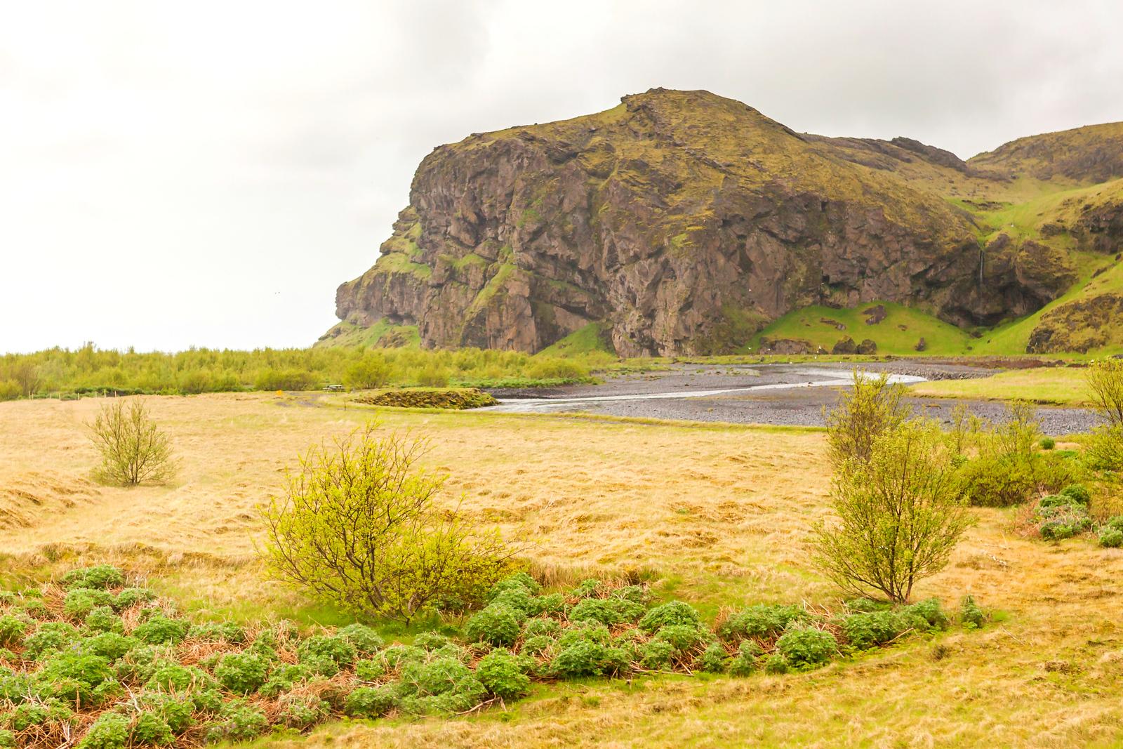 冰岛风采,山峦起伏