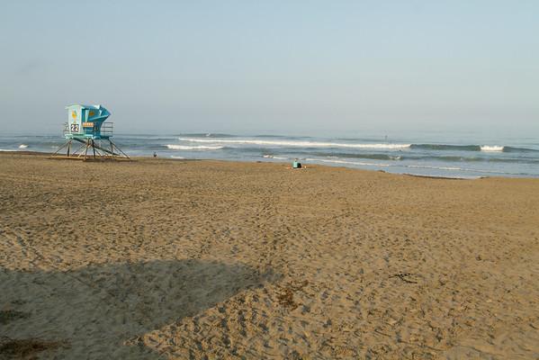 Ponto Beach early morning 8-04-2014
