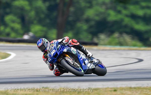 2021 Moto America Superbikes at Virginia
