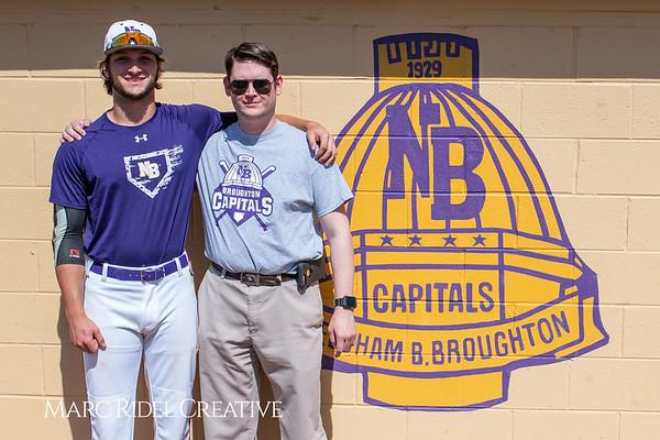Broughton varsity baseball vs Sanderson. April 24, 2019. 750_0144