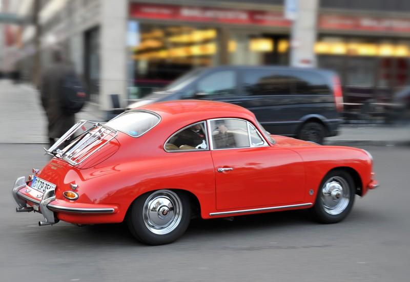 Porsche 356, Berlin.