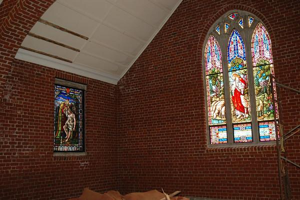 Chapel Renovation Continues