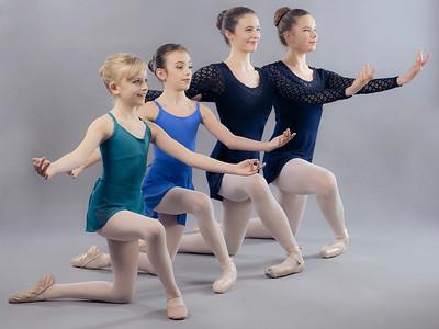 Ballerinas: Liana, Selina, Ana, Anaïs