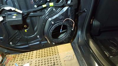 2015 Mazda 3 (4 Door) GS  Rear Door Speaker Installation - Canada