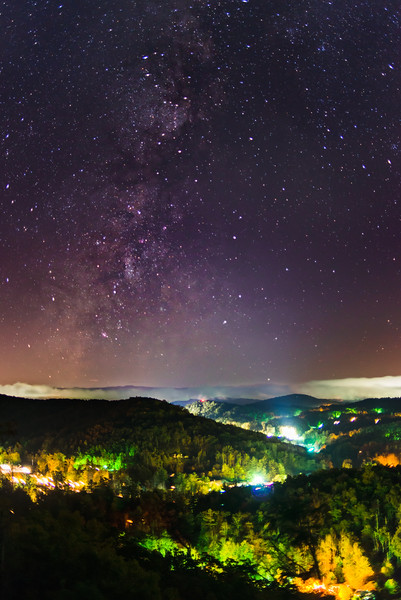 Milky Way over Linville