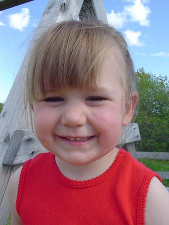 2004 Olivia turns 3!