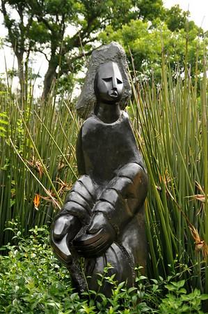 Kirstenbosch Botanical Gardens   Mambo Sculptures