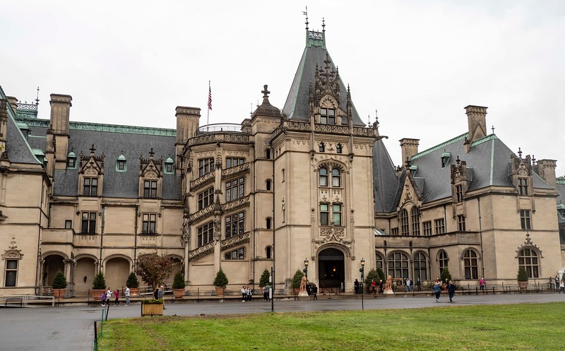The Biltmore Estate....the largest home in the United States
