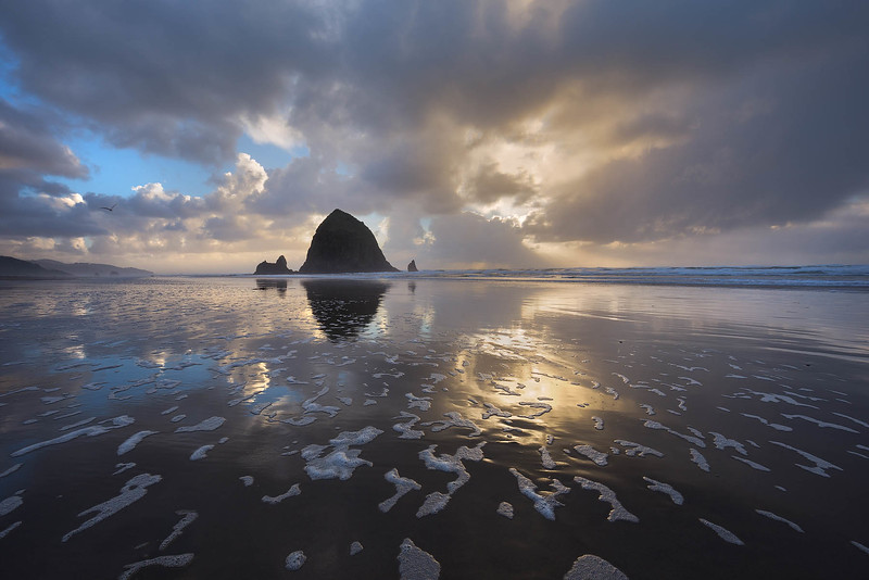 Stormy Cannon Beach
