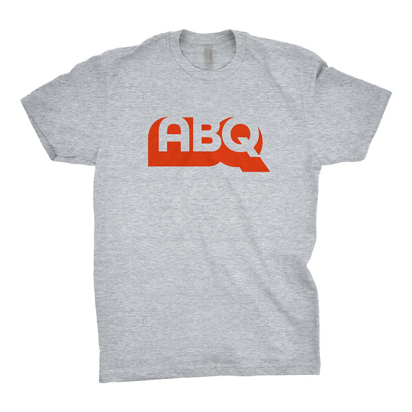 Organ Mountain Outfitters - Outdoor Apparel - Mens T-Shirt - Big Red ABQ Tee - Heather Grey.jpg