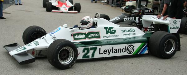 Vintage Formula One Cars