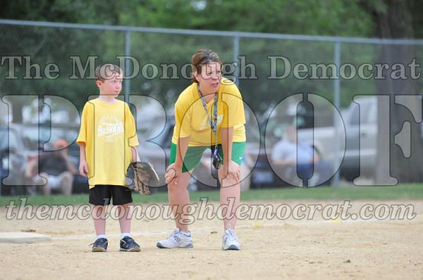 LL T-ball Yellow vs Blue 06-27-10