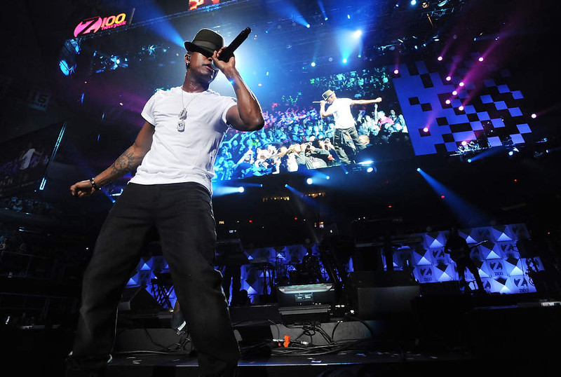 . Singer Ne-Yo performs at Z100\'s Jingle Ball 2012 presented by Aeropostale at Madison Square Garden on Friday Dec. 7, 2012 in New York. (Photo by Evan Agostini/Invision/AP)