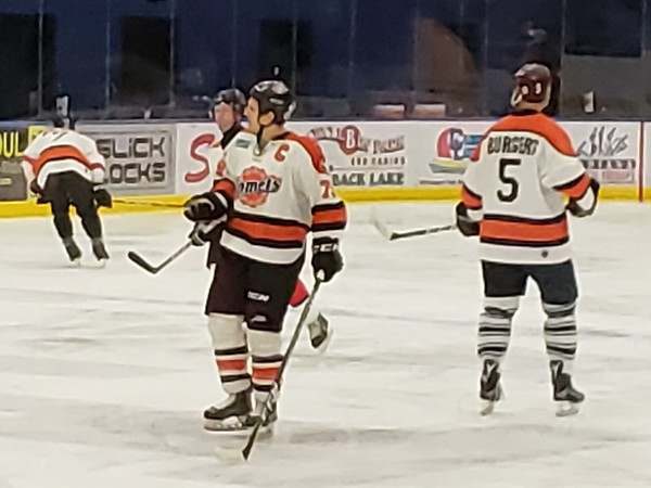 Fort Wayne Komets Alumni vs Thunder Ice Arena House Team Hockey Game  Dec. 2018