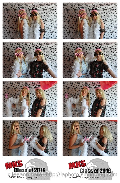 2016 Senior picnic photobooth