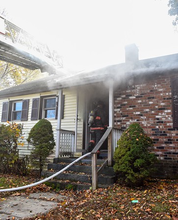 2 Alarm Structure Fire - Graham St, Leominster, Ma - 10/26/19