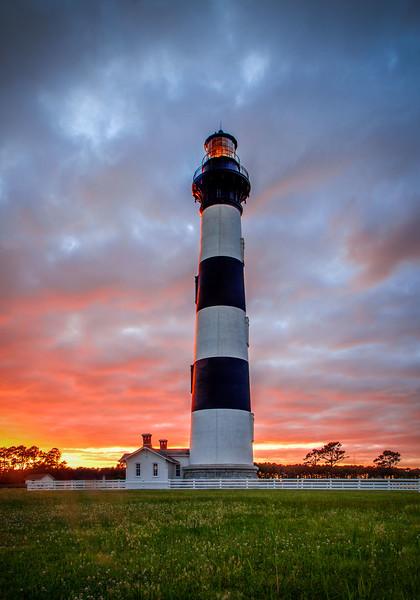 Bodie Island Lighthouse Sunset