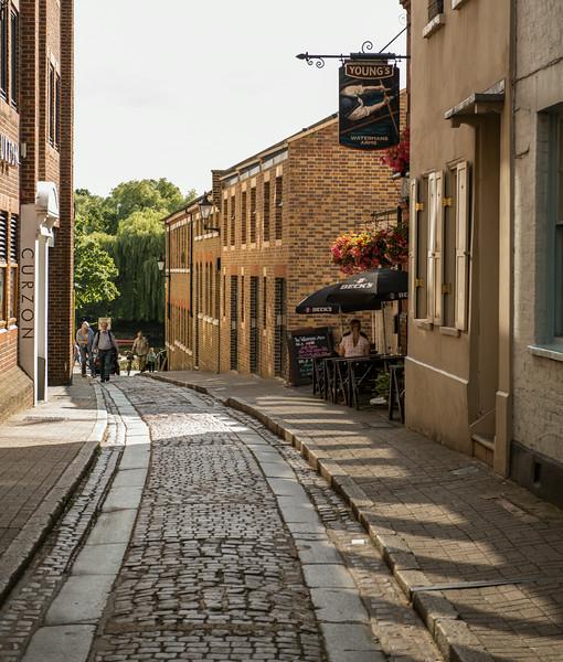 Richmond alley way