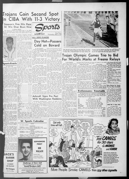 Daily Trojan, Vol. 44, No. 126, May 06, 1953