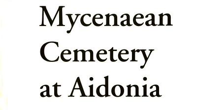 Aidonia Mycenaean chamber tombs