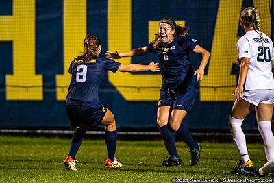 10-14-21 - Best of Michigan Women's Soccer Vs Michigan State