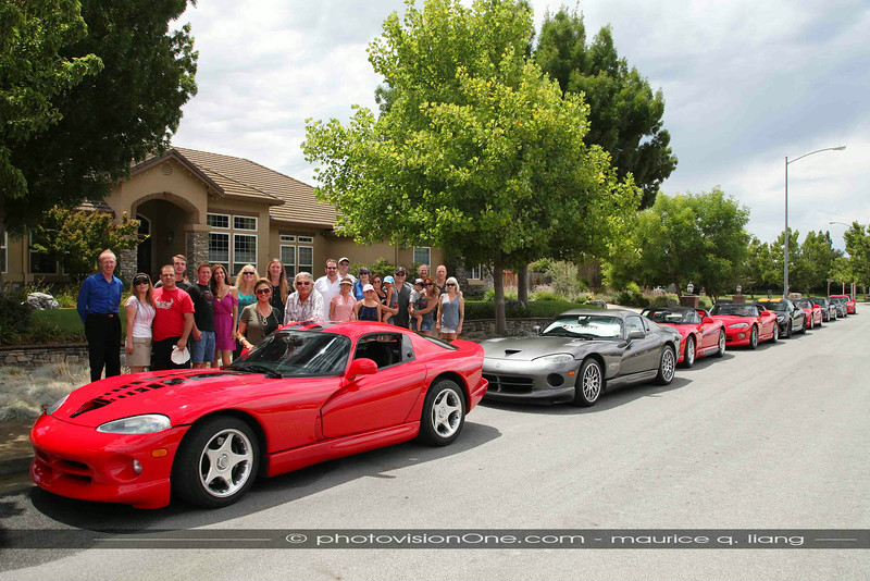 2014 NorCal VOA Viper cruise and pool party hosted by Sanjar and Sheri Chakamian.