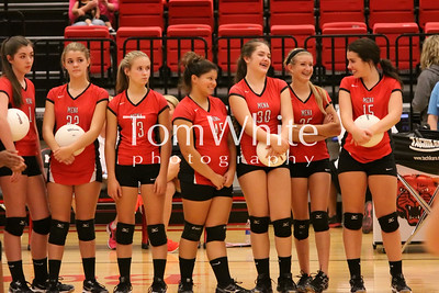Mena vs Arkadelphia - 9th Grade Volleyball 2014