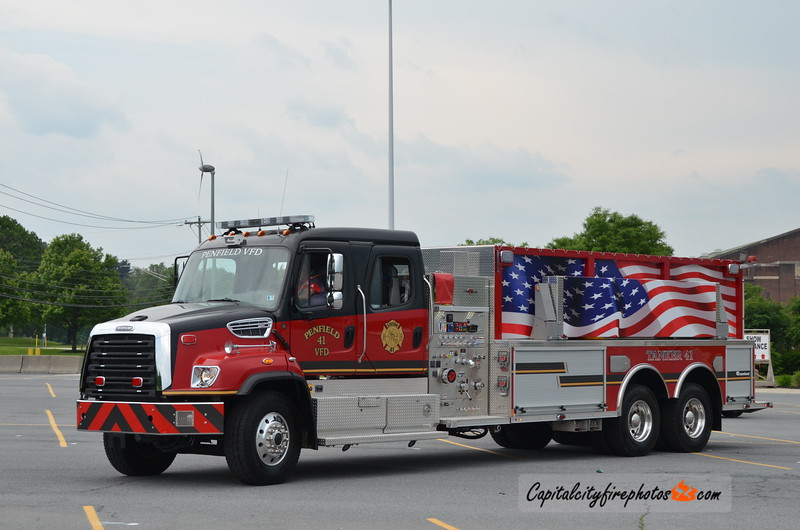 Penfield Fire Co. (Clearfield Co.) Tanker 41: 2018 Freightliner SD114/Rosenbauer 750/3000