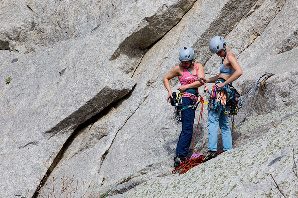 Climbing in Little Cottonwood Canyon
