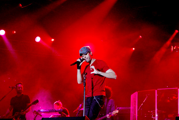 Enrique Iglesias L Festival Orange County 2015