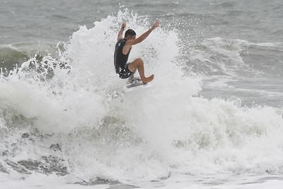 Cocoa Beach Pier Hurricane Epsilon