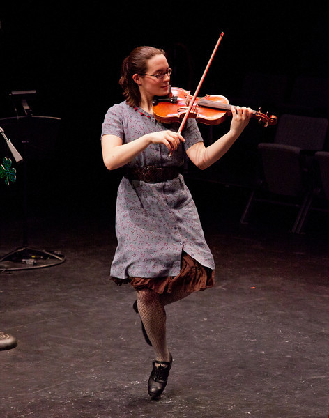 Inish Concert. March 8, 2012. Williams College '62 Center