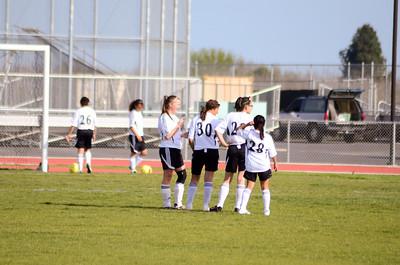 JV Girls Soccer vs. West Campus