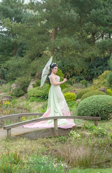 Spring Petal Dress