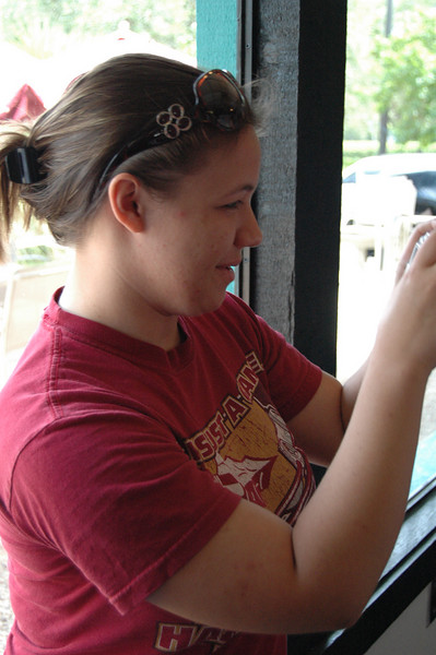 Whitney Fruge, our wonderful diminutive Cajun Facebook group creator!