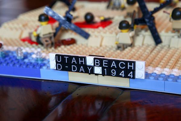 2013 CBT Utah Beach Legos