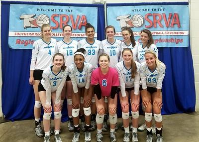 Alliance Volleyball 3/11/18