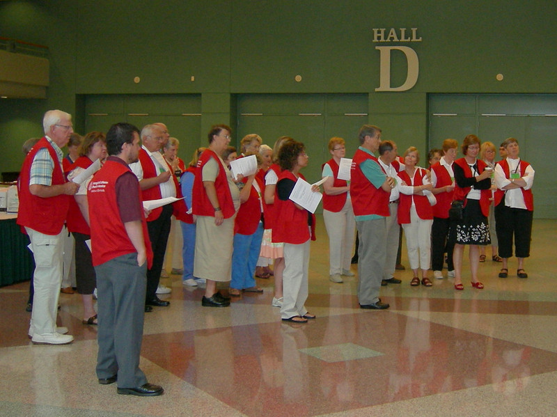 The 2009 Churchwide Assembly couldn't happen without the many volunteers who come to serve their church, often at their own expense.