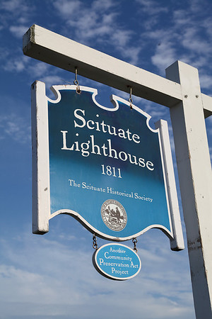 Scituate Lighthouse, Scituate - 20 Aug 2012