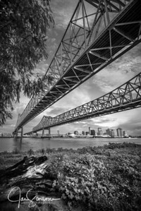 Mississippi River New Orleans in B&W | Sep 2018