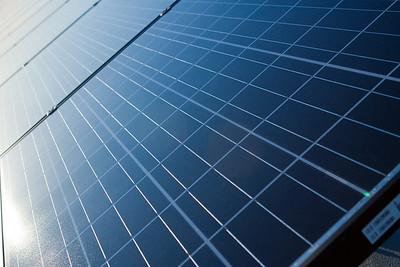AEG Solar Panels - Ground