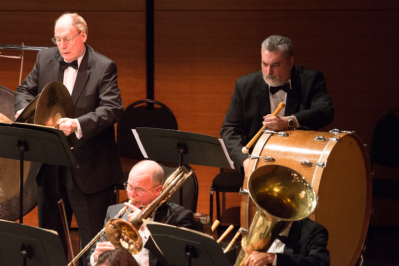 Ron Carlson, Carlos Figueiras, percussion -- Symphony of the Potomac, January 29, 2017